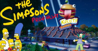 the simpsons prop hunt